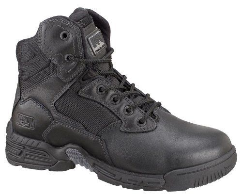 Magnum Men's Stealth Force 6.0 Boot Magnum. $99.95. Cambrelle(r) moisture wicking lining. X-Traction Zone outsole combines ten advanced features for great stability. Rubber sole. Full grain leather upper / 1680 denier nylon mesh upper. Teste. leather. M-PACT contoured sockliner with memory foam - molds to the shape of your feet