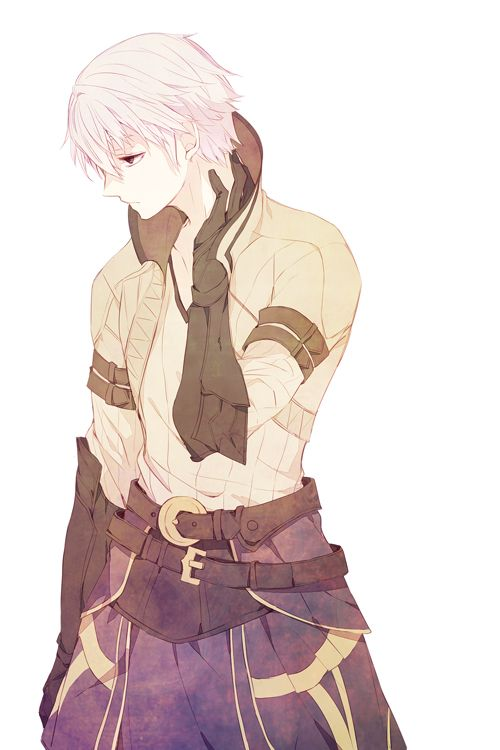 I really like Robin's design. Too bad he's such a blank character...