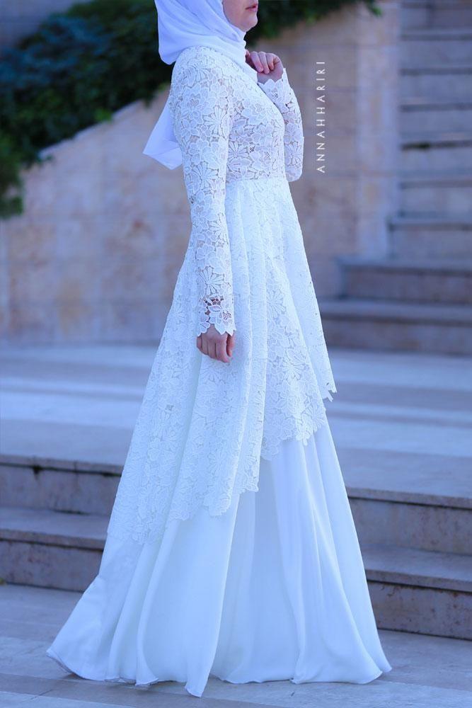 Haute Wedding Dress Gaun Perkawinan Gaun Pengantin