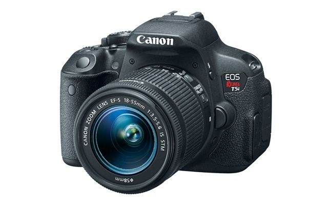 Canon EOS Rebel T5i Review   https://dslrcamerasearch.com/canon-eos-rebel-t5i-review/ The 18-megapixel Canon Rebel T5i is the same beginner DSLR camera as its predecessor the Rebel T4i. Canon T5i comes with a few key changes. It has a n...  https://dslrcamerasearch.com/canon-eos-rebel-t5i-review/