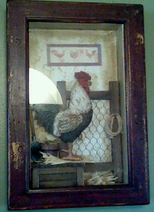 29 Best Images About Chicken Themed Decorating On Pinterest