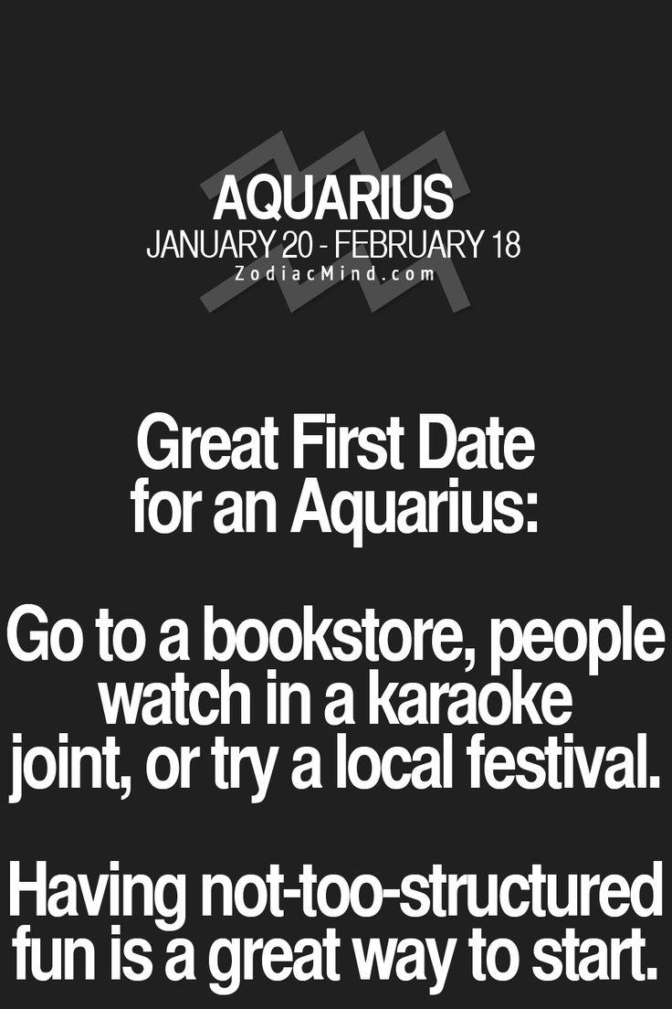 Aquarius date