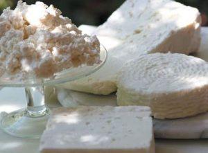 White cheeses