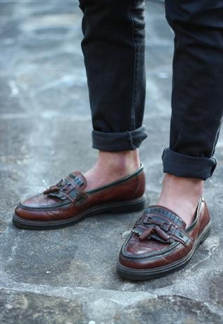 Brown Leather Loafers  £23.99: Dapper Details, Loafers 23 99, Leather Loafers, Brown Leather, Hbyhudson Footwear, Office Gent, Men Shoes, Footwear Loafer