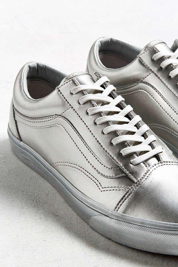 ed8275e6cf Slide View  4  Vans Old Skool Silver Metallic Sneaker