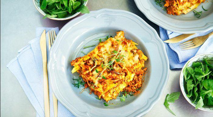 Klassisk lasagne – bästa receptet!