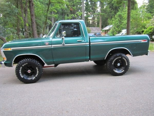 Curb Weight 1979 Ford F150