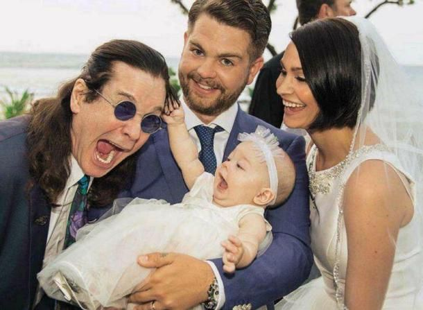 Ozzy Osbourne...still a better father figure than Kevin Federline.