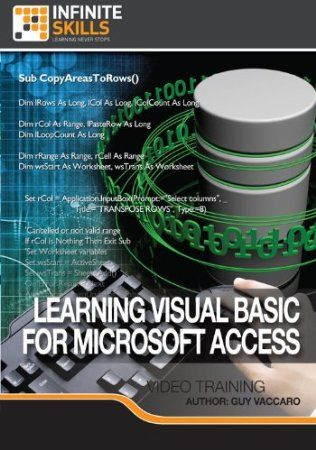 In this software training course from expert author and trainer Guy Vaccaro, you will learn how to use Visual Basic with Microsoft Access. Knowing how to use Visual Basic with Microsoft Access gives you greater control of your Access forms and design. You will start with an introduction to VBA and the VBA editor, how to navigate and use the tools available to you to write VBA code. You will explore variables and constants, functions, sub routines, arrays and other VBA constructs. Price…