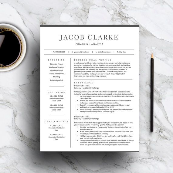 139 best Professional Resume Templates images on Pinterest Cv - classic resume templates