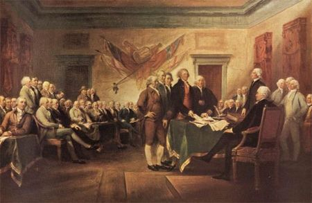 the similarities between the english bill of rights and the american declaration of independence The signing of the declaration of independence was a major turning point in the history of america, because it changed the course of american history drastically and let to the united states independence from britain.