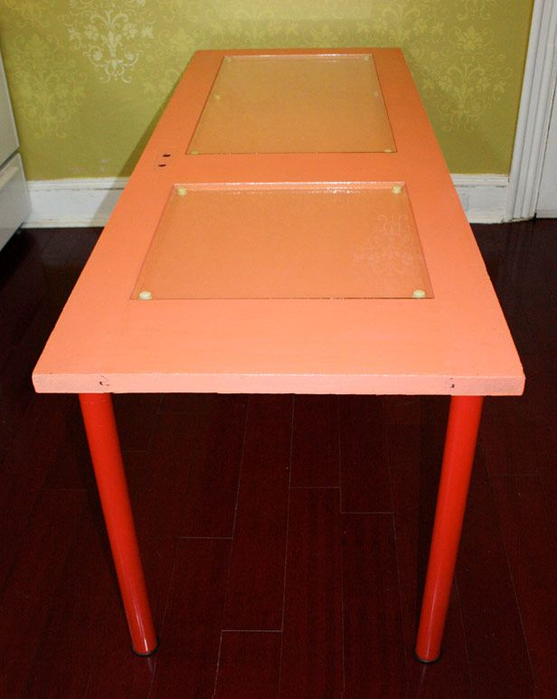 "you'll ""adore"" this door turned kitchen table project!: Door Tables, Kitchen Tables, Old Doors, Turned Kitchen"