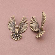 Сплав металл антикварный бронза Eagle подвески-талисманы для ювелирные изделия ремесло своими руками 20 шт., 31 x 48 мм YY1769(China (Mainland))