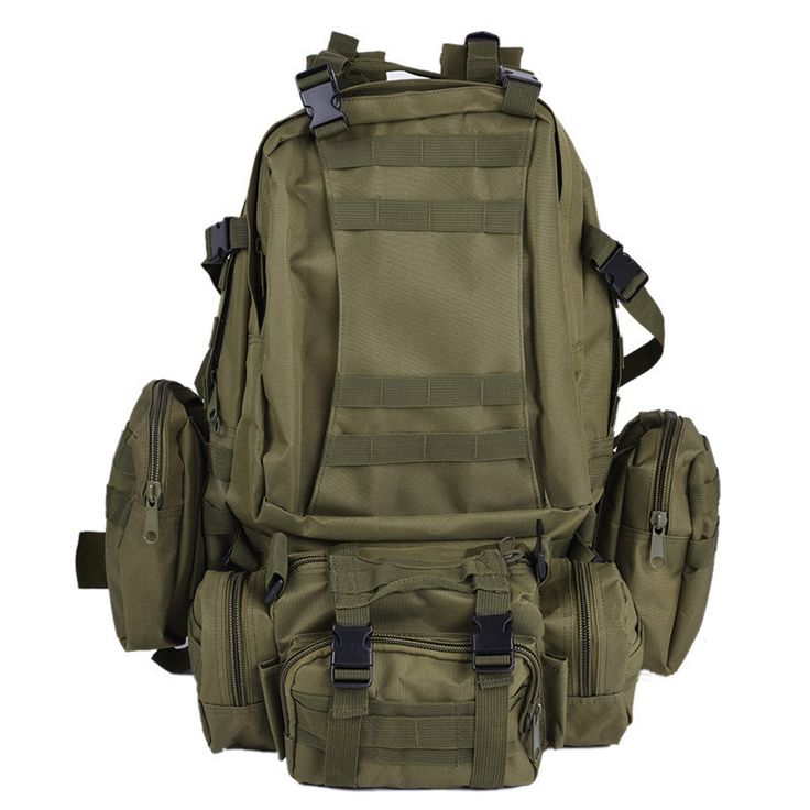 High Quality Outdoor Sports Camping Travel Hiking Climbing Bag Multifunction Military Tactical Backpack with MOLLE Rucksack