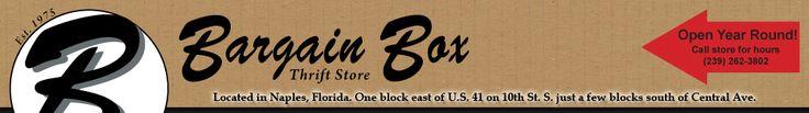 Bargain Box Thrift Store Naples Florida FL; Ministry of Naples United Church of Christ