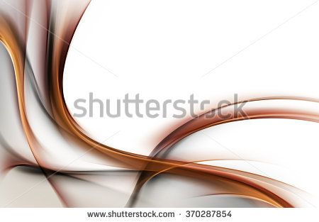 Abstract background with brown lines and waves. Composition of shadows and lights