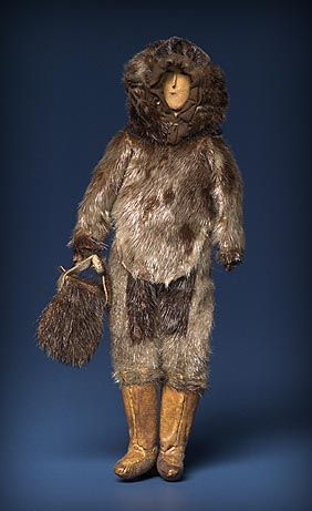 poupée inuit - Musée canadien des civilisation - Ottawa