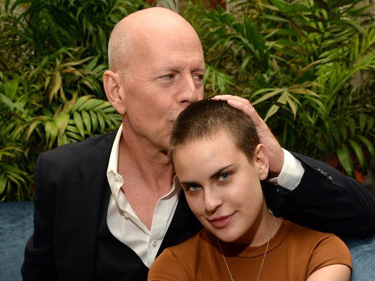 Bruce Willis et sa fille Tallulah