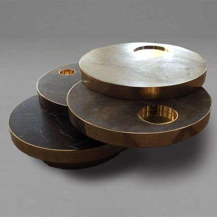 Solaris Kinetic Table Designed by Lara Bohinc, inspired by Willy Rizzo
