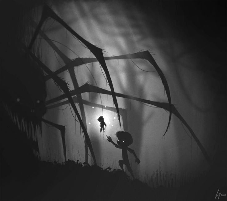 """Limbo. Simple, dark and beautiful. It says """"Isn't need great effects all the time to build a amazing experience""""."""
