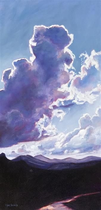 Love this oil painting from UGallery. Sky Series