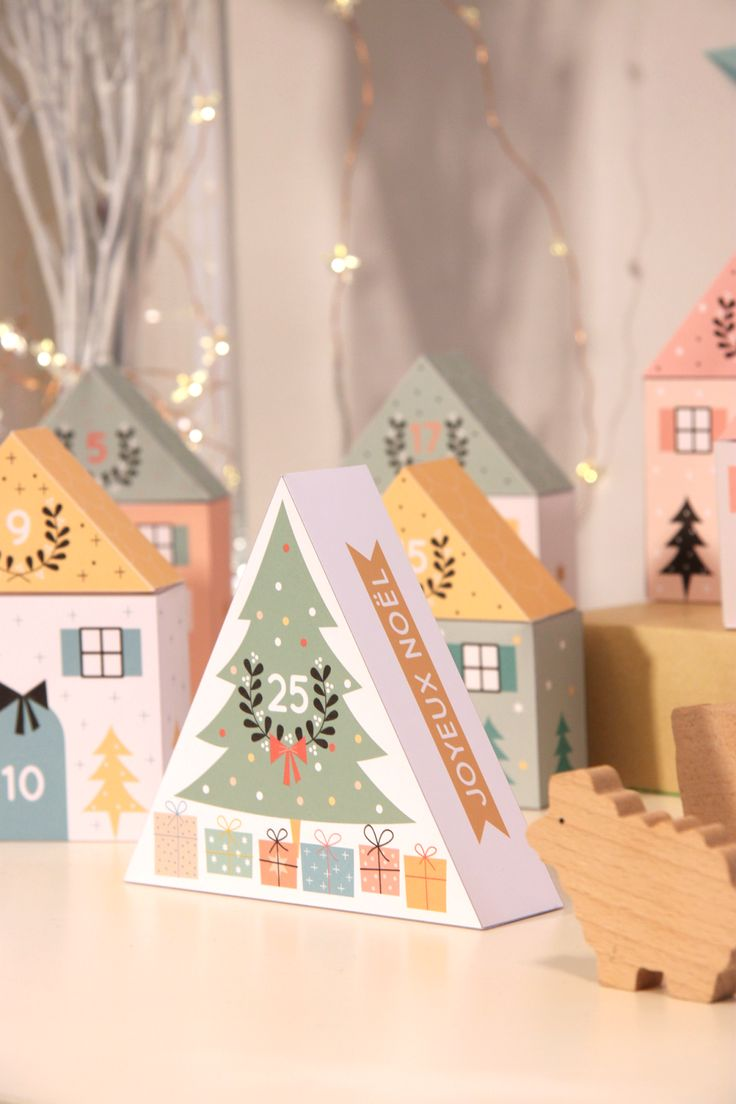 zü: Calendrier de l'Avent DIY 2015. Petites boîtes très jolies