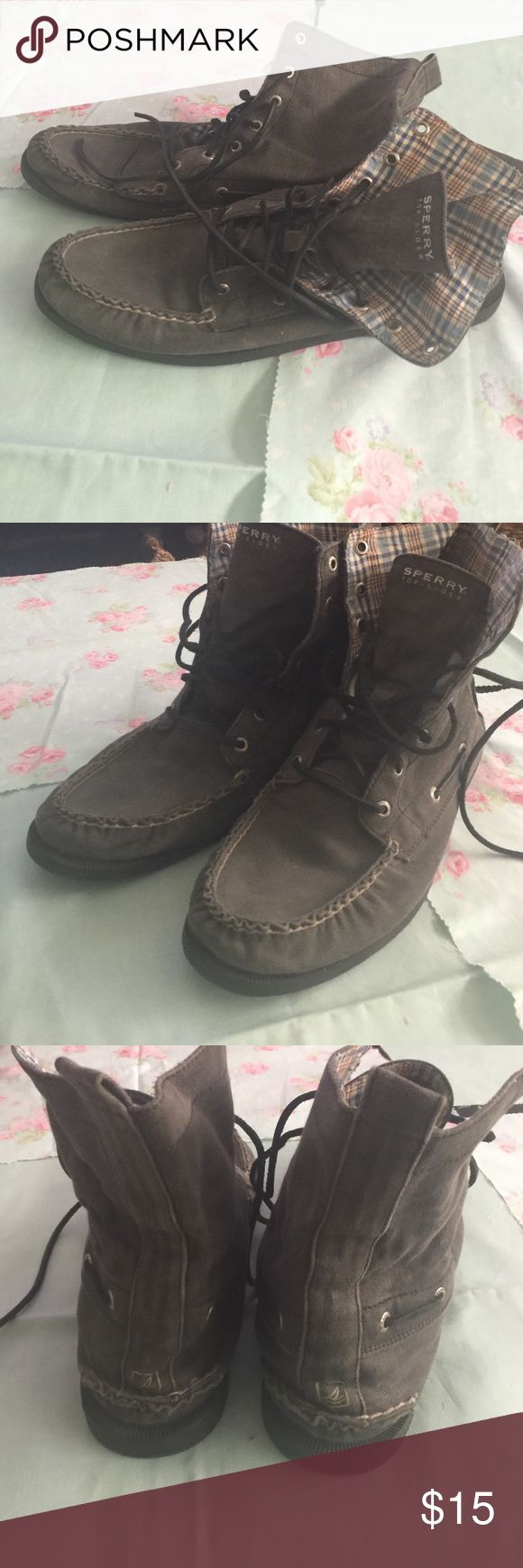 Sperry top sider Shoes High top used Sperry Top-Sider Shoes Sneakers