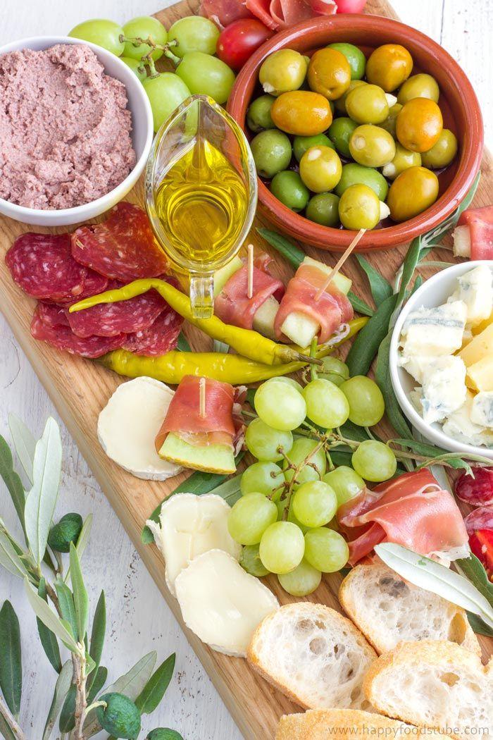 Simple Mediterranean Antipasti Platter – Dan330
