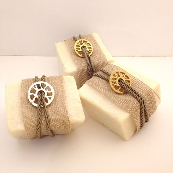 Olive oil soap with jewelry motif!