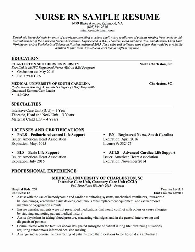 Nursing Student Resume Template Beautiful Experienced Nursing Resume Nerdy Nurse Stuff In 2020 Nursing Resume Template Nursing Resume Examples Nursing Resume