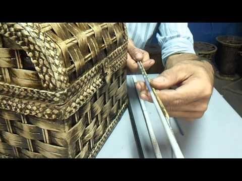 cestaria com jornal medidas de canudos MODULO 11 - YouTube