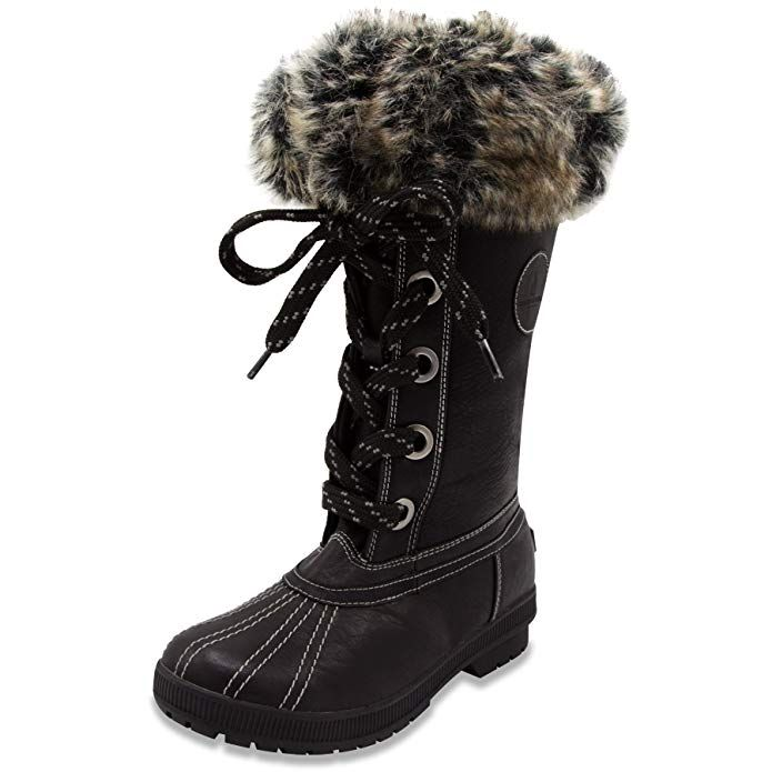 9828325b8563 London Fog Womens Melton Cold Weather Waterproof Snow Boot4.3 out of 5  stars 774 customer reviews