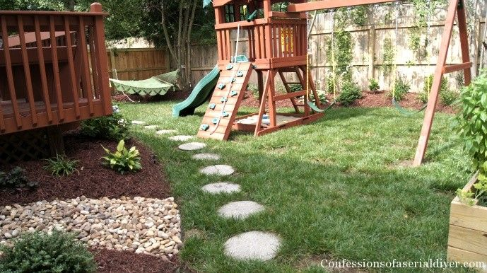 Holy backyard makeover. Confessions of a Serial Do-It-Yourselfer's before and afters will blow your mind.