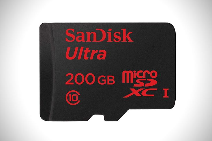 For those of us who shoot a lot of video or just can't bear to ever delete a thing, 200 gigabytes of storage on a microSD card sounds pretty awesome. SanDi
