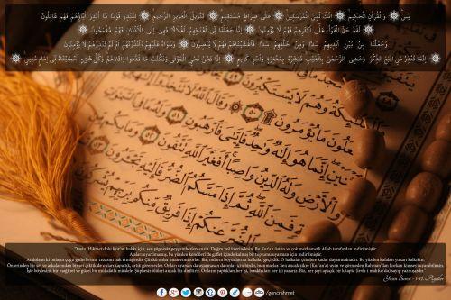 """""""Yasin. Hikmet dolu Kur'an hakkı için, sen şüphesiz peygamberlerdensin. Doğru yol üzerindesin. Bu Kur'an üstün ve çok merhametli Allah tarafından indirilmiştir. Ataları uyarılmamış, bu yüzden kendileri de gaflet içinde kalmış bir toplumu uyarman için indirilmiştir..""""   Yasin Suresi - 1-12. Ayetler Arası  #Allah, #kitap, #quran, #peygamber, #muhammed, #mohammed, #religion, #din, #islam, #doomsday, #lastday, #prophet, #yasin, #sure, #ayet, #hikmet, #kur'an"""