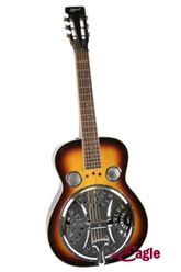 Antique bronze finish 5-string resonator/closed back banjo with bronze coated fittings.Has double coordinating rods. Frank Skinner was given one of these Ozark models to use on the Play it Again TV series.