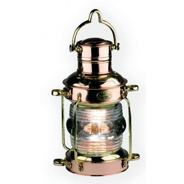 Brass & Copper Anchor Lamp