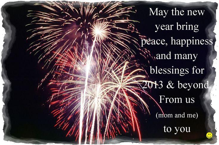 Wishing you a fabulous 2013