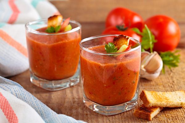 Gaspacho Express avec Thermomix