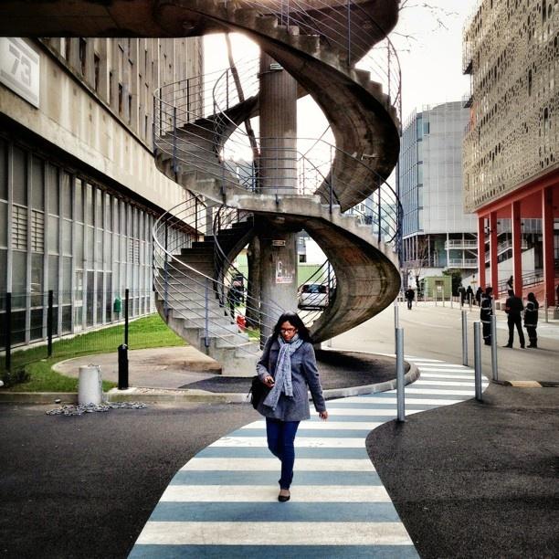 Université Pierre et Marie Curie Frm bd: Escaliers