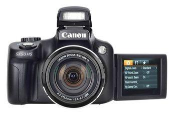 Appareil photo bridge Canon POWERSHOT SX 50 HS 349 €