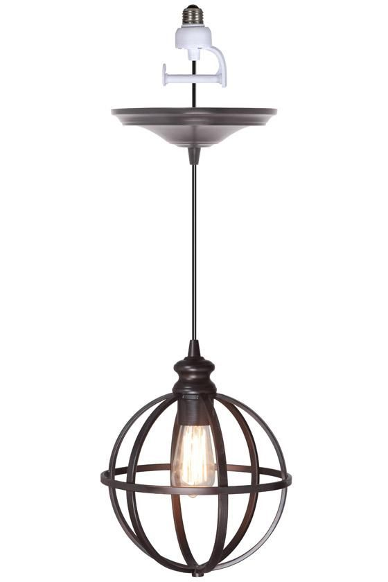 $79 Globe Bronze Pendant - Pendant Lighting - Ceiling Fixtures - Lighting | HomeDecorators.com