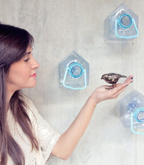 Get Out! Plastic Bird House by Colectivo da Rainha