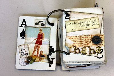 """awesome altered book!"""
