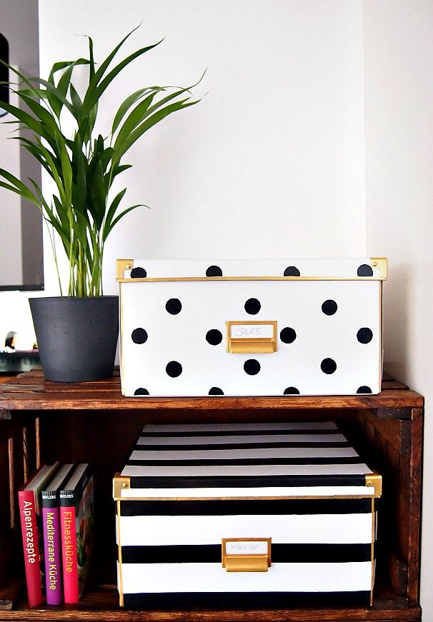 IKEA Hack, Boxes inspired by Kate Spade