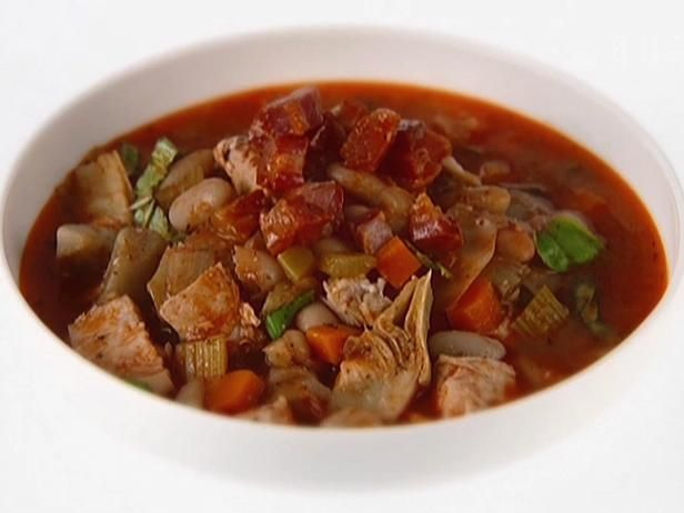 Chicken, Artichoke and Cannellini Bean Spezzatino (Italian Stew)