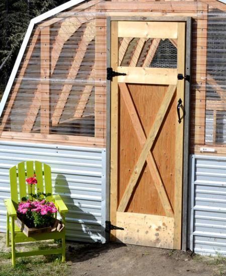 DIY Furniture : DIY Barn Door