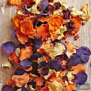 Root Veggie Chips with Sea Salt From Better Homes and Gardens, ideas and improvement projects for your home and garden plus recipes and entertaining ideas.