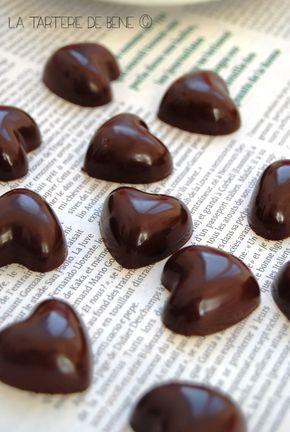 Chocolat coeur caramel