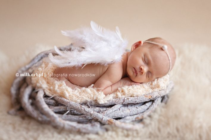 newborn photography by milkart.pl